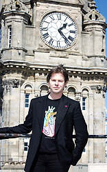 Scottish fashion designer Christopher Kane helped launch the Heart of Scotland appeal at the Balmoral Hotel, Edinburgh. pic copyright Terry Murden @edinburghelitemedia