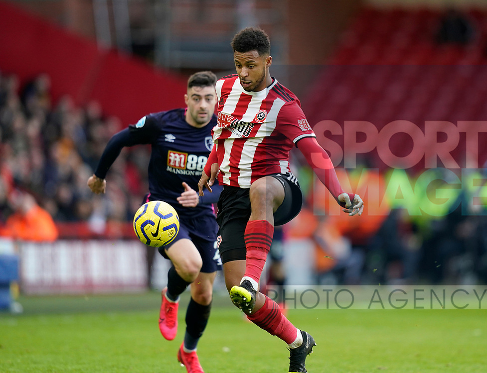 Lys Mousset of Sheffield Utd during the Premier League match at Bramall Lane, Sheffield. Picture date: 9th February 2020. Picture credit should read: Simon Bellis/Sportimage