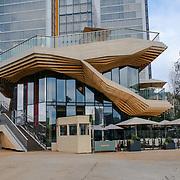 2021-09-20 Stratford, London, UK. Haugen 9 Endeavour Square at Queen Elizabeth Olympic Park, East Bank.