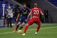 Leo DUBOIS of Lyon during the French championship Ligue 1 football match between Olympique Lyonnais and Nimes Olympique on September 18, 2020 at Groupama stadium in Decines-Charpieu near Lyon, France - Photo Romain Biard / Isports / ProSportsImages / DPPI