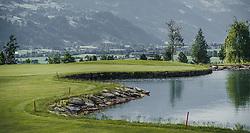 THEMENBILD - der 18-Loch-Championshipplatz bietet eine überdachter Drivingrange für PROS und Anfänger. Die Sportsresidenz Zillertal bildet das Herz der Anlage und ist gleichzeitig das beliebte Clubhaus des Golfplatzes, aufgenommen am 06. Juni 2019 in Uderns Oesterreich // the 18-hole championship course offers a covered driving range for PROS and beginners. The Sportsresidenz Zillertal forms the heart of the course and is also the popular clubhouse of the golf course, in Uderns, Austria on 2019/06/06. EXPA Pictures © 2019, PhotoCredit: EXPA/Stefanie Oberhauser