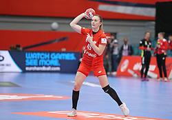 KOLDING, DENMARK - DECEMBER 5: Karolina Kochaniak during the EHF Euro 2020 Group D match between Poland and Romania in Sydbank Arena, Kolding, Denmark on December 5, 2020. Photo Credit: Allan Jensen/EVENTMEDIA.