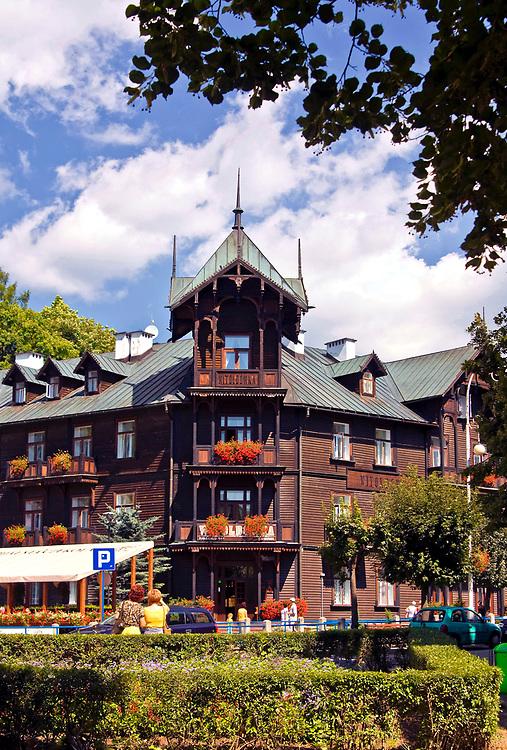 Willa Witoldówka, Krynica Zdrój, Polska<br /> Guest house Witoldówka, Krynica Zdrój, Poland