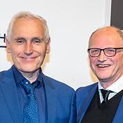 NLD/Amsterdam/20180324 - inloop première Dutch Doubles ballet, Arthur Japin en partner Lex Jansen