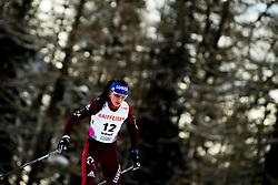 February 2, 2018 - Goms, SWITZERLAND - 180202 Yana Kirpichenko of Russia competes in the women's 7,5/7,5 km skiathlon during the FIS U23 Cross-Country World Ski Championships on February 2, 2018 in Obergoms..Photo: Vegard Wivestad GrÂ¿tt / BILDBYRN / kod VG / 170095 (Credit Image: © Vegard Wivestad Gr¯Tt/Bildbyran via ZUMA Press)