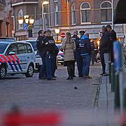 NLD/Bussum/20120119 - 3 Zwaargewonden bij steekpartij in coffeeshop de Pyramide in Bussum, waarbij de dader gevlucht is