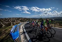 Domen Novak, Tadej Pogacar of Team Slovenia during Practice session at UCI Road World Championship 2020, on September 25, 2020 in Imola, Italy. Photo by Vid Ponikvar / Sportida
