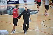 DESCRIZIONE : Trento Primo Trentino Basket Cup Nazionale Italia Maschile <br /> GIOCATORE : Simone Pianigiani<br /> CATEGORIA : allenamento<br /> SQUADRA : Nazionale Italia <br /> EVENTO :  Trento Primo Trentino Basket Cup<br /> GARA : Allenamento<br /> DATA : 25/07/2012 <br /> SPORT : Pallacanestro<br /> AUTORE : Agenzia Ciamillo-Castoria/M.Gregolin<br /> Galleria : FIP Nazionali 2012<br /> Fotonotizia : Trento Primo Trentino Basket Cup Nazionale Italia Maschile<br /> Predefinita :