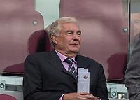 Football - 2016 / 2017 Premier League - West Ham United vs. Sunderland<br /> <br /> Sir Trevor Brooking takes his seat at The London Stadium.<br /> <br /> COLORSPORT/DANIEL BEARHAM