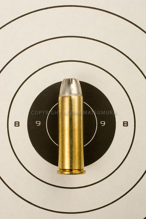 Bullet on target