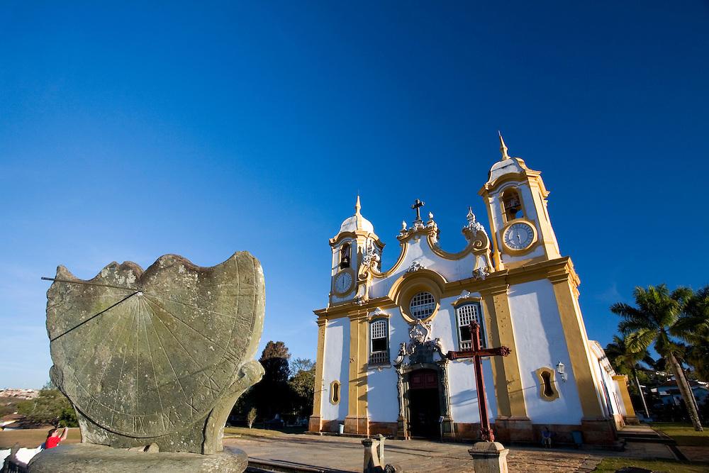 Tiradentes _ MG, Brasil...Igreja Matriz de Sato Antonio em Tiradentes...Matriz de Santo Antonio church in Tiradentes.. .FOTO: JOAO MARCOS ROSA / NITRO