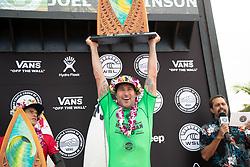Joel Parkinson wins the Hawaiian Pro at Haleiwa, Oahu, Hawaii, USA.