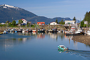 Wrangell, Alaska. Inside Passage port-of-call .Wrangell is one of the oldest non-Native settlements in Alaska. In 1811, the Russians began fur trading with area Tlingit at the site of present-day Wrangell. In 1834, Baron Ferdinand Petrovich Wrangel, then head of Russian government interests in Russian America, ordered a stockade built near the Tlingit Kiks.ádi clan house of Chief Shakes that was located about 13 miles (20 km) north of the large Tlingit village of Kotzlitzna. The stockade, named Redoubt Saint Dionysius, was on the location of present-day Wrangell. The British Hudson's Bay Company leased the fort in 1840 and named the stockade Fort Stikine.