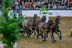 GÖTEBORG - Gothenburg Horse Show FEI World Cup 2009<br /> <br /> EXCELL Boyd<br /> FEI World Cup Viererzug Fahren Qualifikation<br /> <br /> Göteborg, Scandinavium<br /> 21. February 2009<br /> © www.sportfotos-lafrentz.de/Stefan Lafrentz