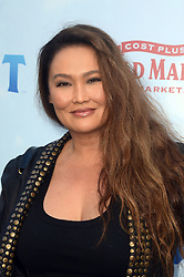 LOS ANGELES, CA - FEBRUARY 03: Tia Carrere at the premiere of Columbia Pictures' 'Peter Rabbit' at The Grove on February 3, 2018 in Los Angeles, California. CAP/MPI/DE ©DE//MPI/Capital Pictures. 03 Feb 2018 Pictured: Tia Carrere. Photo credit: DE/MPI/Capital Pictures / MEGA TheMegaAgency.com +1 888 505 6342