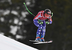 30.11.2017, Lake Louise, CAN, FIS Weltcup Ski Alpin, Lake Louise, Abfahrt, Damen, 3. Training, im Bild Stacey Cook (USA) // Stacey Cook of the USA in action during the 3rd practice run of ladie's Downhill of FIS Ski Alpine World Cup at the Lake Louise, Canada on 2017/11/30. EXPA Pictures © 2017, PhotoCredit: EXPA/ SM<br /> <br /> *****ATTENTION - OUT of GER*****