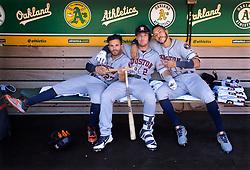 Jose Altuve, Alex Bregman, and Carlos Correa, 2018
