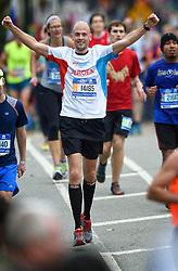 01-11-2015 USA: NYC Marathon We Run 2 Change Diabetes day 4, New York<br /> De dag van de marathon, 42 km en 195 meter door de straten van Staten Island, Brooklyn, Queens, The Bronx en Manhattan / Jeroen