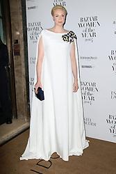 © Licensed to London News Pictures. 04/11/2014, UK. Gwendoline Christie, Harper's Bazaar Women of the Year Awards, Claridge's, London UK, 04 November 2014. Photo credit : Richard Goldschmidt/Piqtured/LNP