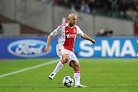 FOOTBALL - UEFA CHAMPIONS LEAGUE 2010/2011 - GROUP STAGE - GROUP G - AJAX AMSTERDAM v AJ AUXERRE - 19/10/2010 - PHOTO GUY JEFFROY / DPPI - DEMY DE ZEEUW (AJAX)