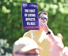 College Lecturers Strike Day Lobby Scottish Parliament, Edinburgh,  16 May 2019
