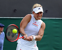 Tennis - 2021 All England Championship - Week One - Day Four (Thursday) - Wimbledon<br /> Angelique Kerber v Sara Sorribes Tormo<br /> <br /> Angelique Kerber of Germany<br /> <br /> CreditCOLORSPORT/Andrew Cowie