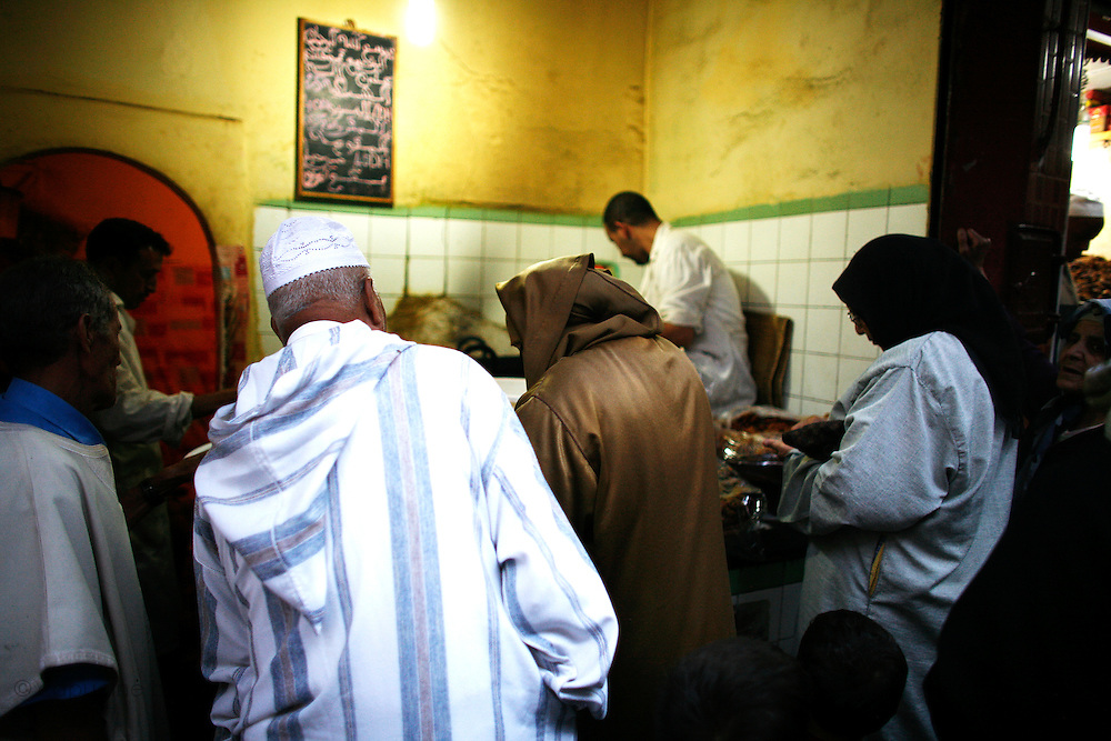 Marrakesh, Morocco. October 9th 2008..In the souk...