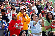 More than 4,000 participants joined the 2014 Silicon Valley Heart & Stroke Walk at KLA-Tencor in Milpitas, California, on October 11, 2014. (Stan Olszewski/SOSKIphoto)