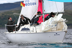 The Silvers Marine Scottish Series 2014, organised by the  Clyde Cruising Club,  celebrates it's 40th anniversary.<br /> Day 1, Sonata, GBR8215N, Red Hot Poker, Murray Caldwell, Cove SC<br /> <br /> Racing on Loch Fyne from 23rd-26th May 2014<br /> <br /> Credit : Marc Turner / PFM