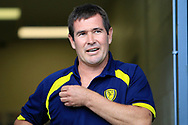 Burton Albion manager Nigel Clough during the EFL Sky Bet Championship match between Burton Albion and Cardiff City at the Pirelli Stadium, Burton upon Trent, England on 5 August 2017. Photo by Richard Holmes.
