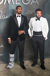 Tate Modern, London, April 26th 2017. David Haye arrives at the Tate Modern in London for the 'Lost In Space' 60th anniversary event for the Omega Speedmaster watch.