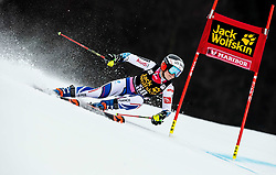 DIREZ Clara of France competes during the 6th Ladies'  GiantSlalom at 55th Golden Fox - Maribor of Audi FIS Ski World Cup 2018/19, on February 1, 2019 in Pohorje, Maribor, Slovenia. Photo by Vid Ponikvar / Sportida