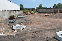 Construction Progress Photograph, Sea Street Salt Storage Facility, New Haven. Progress Documentation Submission 3.