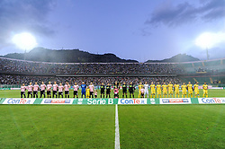 June 13, 2018 - Palermo, Sicilia, Italy - Serie B playoff match final between US Citta di Palermo and Frosinone at Stadio Renzo Barbera. (Credit Image: © Guglielmo Mangiapane/Pacific Press via ZUMA Wire)