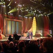 Finale Nationaal Songfestival 2005, Airforce.overzicht, podium, pepsi stage,