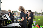 Shadow Armada performs their first show in Oregon, WIsconsin on June 25, 2014.