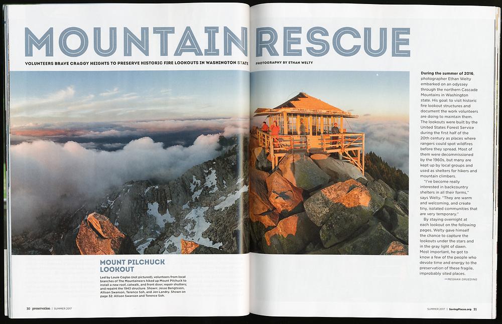 Preservation: Mountain Rescue (Summer 2017)
