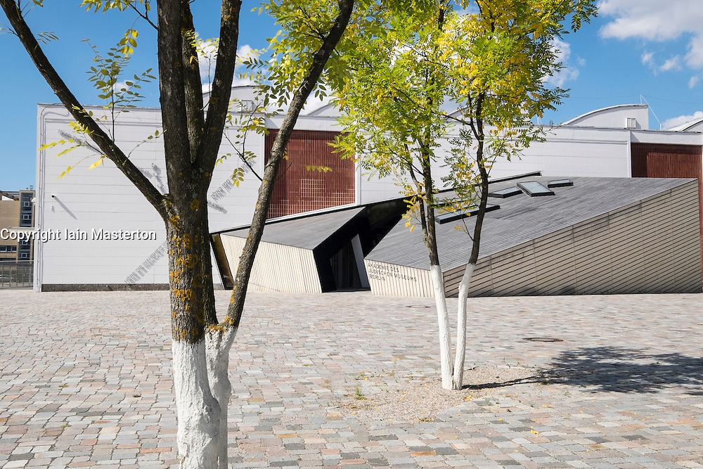 Academy of the Jewish Museum Berlin in the new Eric F. Ross building in Berlin Germany; architect Daniel Libeskind