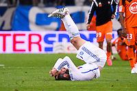 Deception Andre Pierre GIGNAC - 24.04.2015 - Marseille / Lorient - 34eme journee de Ligue 1<br />Photo : Gaston Petrelli / Icon Sport