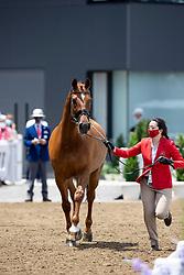 Chew Caroline, SGP, Tribiani, 164<br /> Olympic Games Tokyo 2021<br /> © Hippo Foto - Dirk Caremans<br /> 23/07/2021