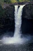 Wailua Falls, Kauai, Hawaii Islands, Fantasy Island, 80-foot tiered waterfall