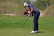 Joakim Lagergren (SWE) on the 1st during Round 2 of the Commercial Bank Qatar Masters 2020 at the Education City Golf Club, Doha, Qatar . 06/03/2020<br /> Picture: Golffile   Thos Caffrey<br /> <br /> <br /> All photo usage must carry mandatory copyright credit (© Golffile   Thos Caffrey)