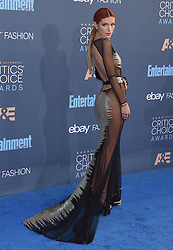 The 22nd Annual Critics' Choice Awards - Arrivals. 12 Dec 2016 Pictured: Bella Thorne. Photo credit: TRF/ MEGA TheMegaAgency.com +1 888 505 6342
