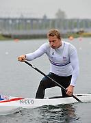 Eton, United Kingdom. Men's C1. Richard JEFFERIES, 2012 GB Canoeing Training, Dorney Lake. Wednesday  02/05/2012  [Mandatory Credit; Peter Spurrier/Intersport-images]