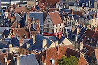 France, Cher (18), Bourges, centre historique, maison à colombage // France, Cher (18), Bourges, historic center, half-timbering houses