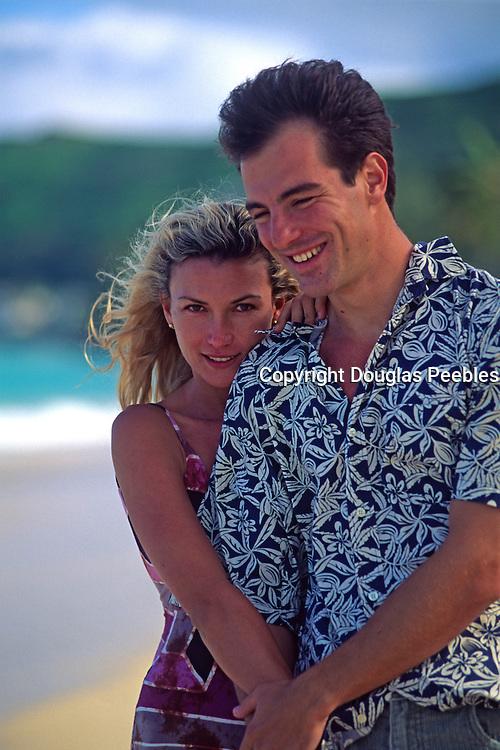 Couple on beach<br />