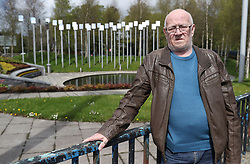 Victims campaigner Kevin Skelton pictured at the Omagh bomb memorial ahead of the West Tyrone by-election.