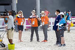 Blom John, Wagemakers Ad, Boulhouwer Iris, Team Netherlands<br /> Olympic Games Tokyo 2021<br /> © Hippo Foto - Dirk Caremans<br /> 31/07/2021