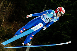 Eva Pinkelnig of Austria competes during Team Competition at Day 2 of World Cup Ski Jumping Ladies Ljubno 2019, on February 9, 2019 in Ljubno ob Savinji, Slovenia. Photo by Matic Ritonja / Sportida