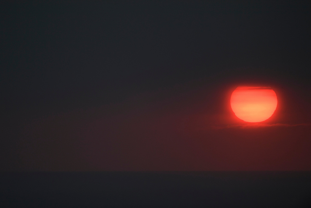 Sunrise over the ocean, Kenting National park, Taiwan